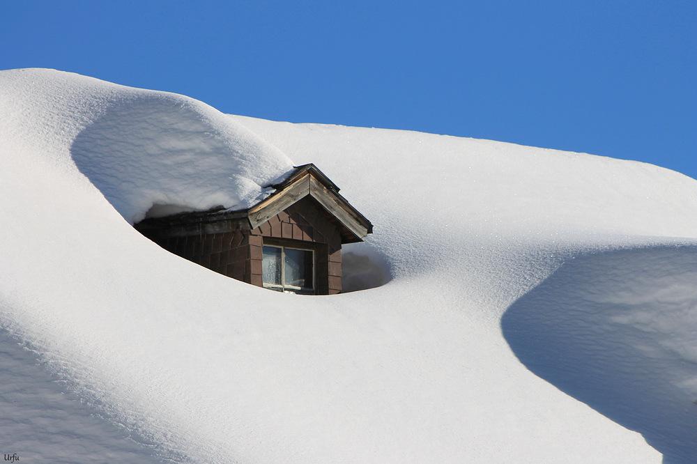 Schnee mehr als genug
