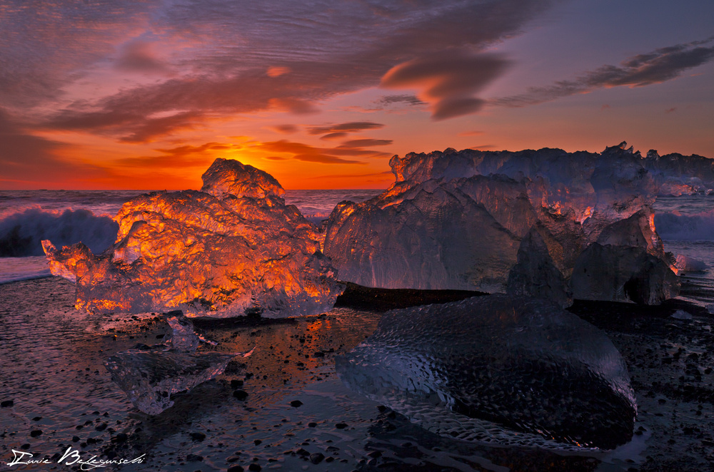 Ice on Fire…