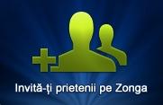 Zonga – 3 invitaţii