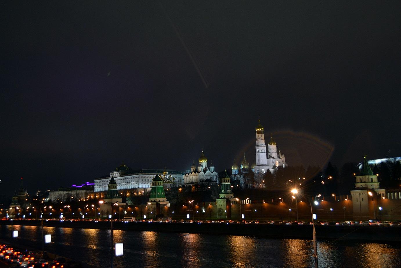 Nou și vechi, zi și noapte – Moscova