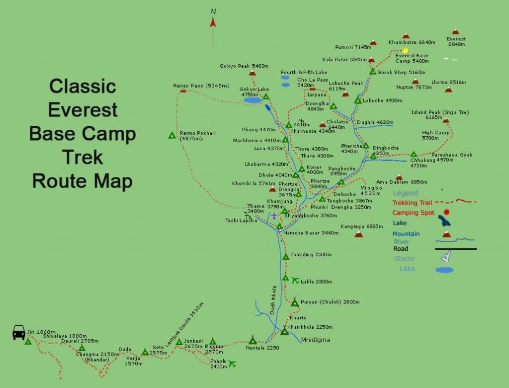 classic-everest-base-camp-from-jiri-route-map